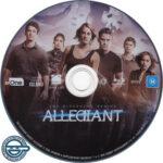 Allegiant (2016) R4 Blu-Ray Label