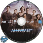 Allegiant (2016) R4 DVD Label