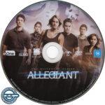 Allegiant (2016) R4 DVD Label