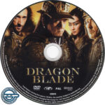 Dragon Blade (2015) R4 DVD label
