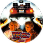 Back To The Future Trilogy (1985) R1 Custom Labels