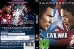 Captain America – Civil War (2016) R2 German Custom Cover & Labels