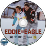 Eddie The Eagle (2016) R4 DVD Label