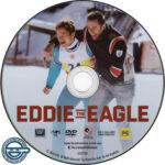 Eddie The Eagle(2016) R4 DVD Label