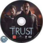 The Trust (2016) R4 DVD Label