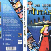 Die Legende von Titanic (1999) R2 German Cover & label