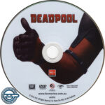 Deadpool (2016) R4 DVD Label