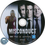 Misconduct (2016) R4 DVD Label