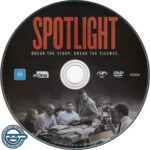 Spotlight (2015) R4 DVD Label