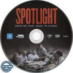 Spotlight(2015) R4 DVD Label