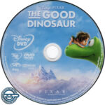The Good Dinosaur (2015) R4 DVD Label