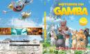 Gamba - Historien om Gamba (2015) R2 Blu-Ray Swedish Cover