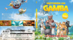 Gamba – Historien om Gamba (2015) R2 Blu-Ray Swedish Cover