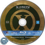 X-Men Apocalypse (2016) R4 Blu-Ray Label