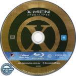 X-Men Apocalypse (2016) R4 Blu-Ray Label