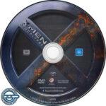 X-Men Apocalypse (2016) R4 DVD Label