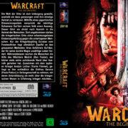 Warcraft The Beginning (2016) R2 German Custom Blu-Ray Cover