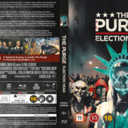 The Purge Election Year (2016) R2 Blu-Ray Nordic Cover
