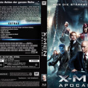 X-Men Apocalypse (2016) R2 German Blu-Ray Cover