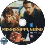 Mississippi Grind (2015) R4 DVD Label