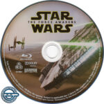 Star Wars: The Force Awakens (2016) R4 Blu-Ray Label