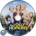 The Great Gilly Hopkins (2016) R4 DVD Label