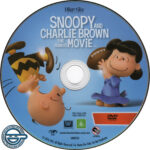 The Peanuts Movie (2015) R4 DVD Label