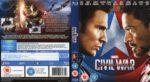 Marvel's Captain America: Civil War (2016) R2 Blu-Ray Covers & Label