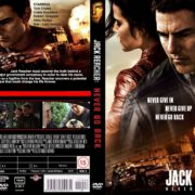 Jack Reacher: Never go back (2016) R0 CUSTOM Cover & label