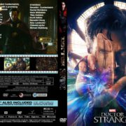 Doctor Strange (2016) R0 CUSTOM Cover & labels