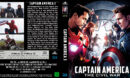 Captain America The Civil War (2016) R2 German Custom Blu-Ray Cover