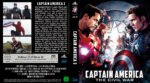 Captain America The Civil War (2016) R2 German Custom Blu-Ray Cover