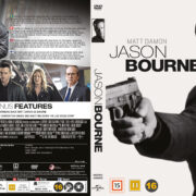Jason Bourne (2016) R2 DVD Nordic Cover