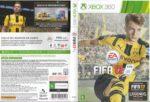 FIFA 17 (2016) USA Brazilian XBOX 360 Cover & Label