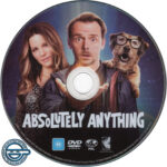 Absolutely Anything (2015) R4 DVD Label