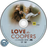 Love The Coopers (2015) R4 DVD Label