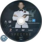 Spectre (2015) R4 DVD Label