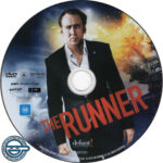The Runner (2015) R4 DVD Label