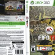 FIFA 17 (2015) USA XBOX 360 Cover & Label