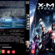 X-Men Apocalypse (2016) R2 Blu-Ray Dutch Cover