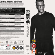 Bourne - The Ultimate 5-Movie Collection (2016) R2 Blu-Ray Swedish Cover