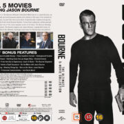 Bourne - The Ultimate 5-Movie Collection (2016) R2 DVD Swedish Cover