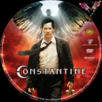 Constantine (2005) R2 German Custom Labels