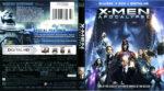 X-Men: Apocalypse (2016) R1 Blu-Ray Cover & Labels