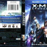 X-Men: Apocalypse (2016) R1 Blu-Ray Cover & Labels