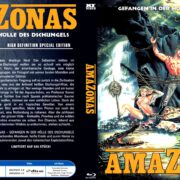 Amazonas (1986) R2 German Custom Blu-Ray Cover