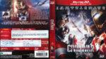 Captain America Civil War 3D (2016) R2 Blu-Ray Italian Cover