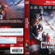 Captain America Civil War 3D (2016) R2 Blu-Ray Italian Cover