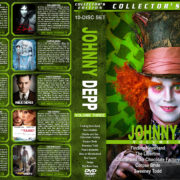 Johnny Depp Collection – Volume 3 (2004-2011) R1 Custom Cover