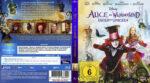 Alice im Wunderland 2 – Hinter den Spiegeln (2016) R2 German Custom Blu-Ray Covers & Labels
